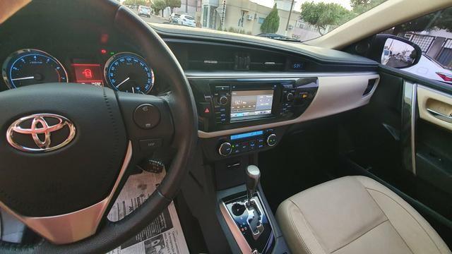 Corolla alts top d linha ano 14/15 automático Flex - Foto 6
