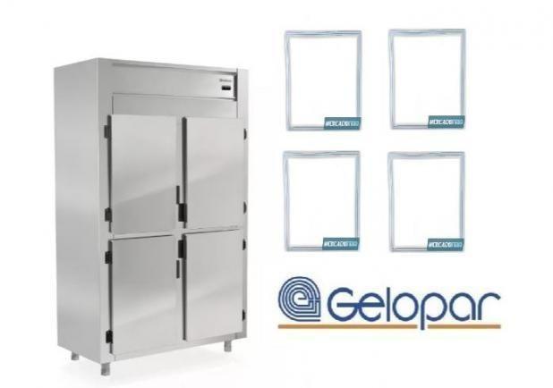 GREP-4P Refrigerador Comercial Inox 4 Portas Gelopar- Novo