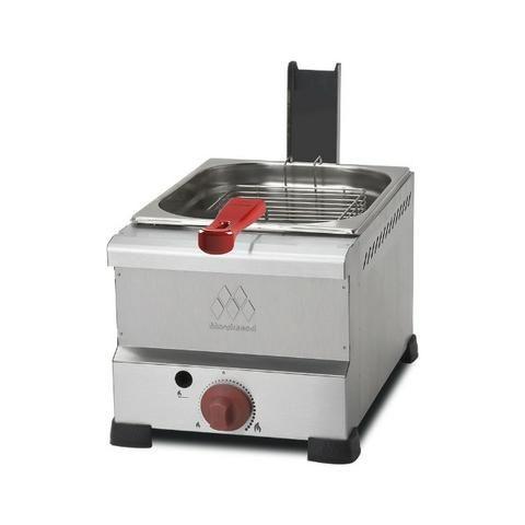 Fritadeira a gás 1 cuba 6 litros Marchesoni - Novo