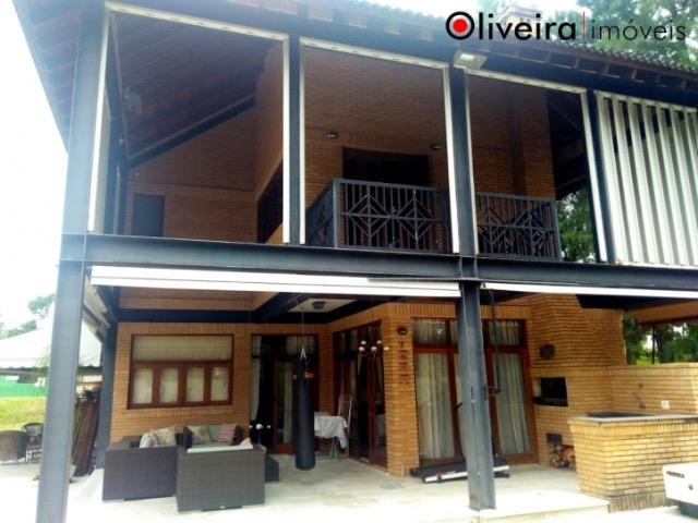 Casa em alphaville mobiliada res. zero, 676m. 4 suítes 15 mil cond 1.063 iptu 691 mês - Foto 2