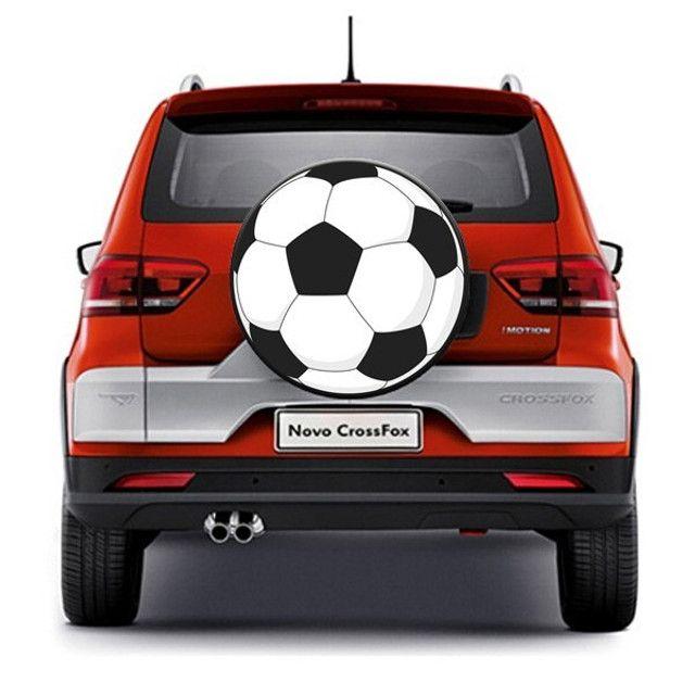 Capa Estepe-bola De Futebol. Ecosport/dobló/crossfox. Produto Novo - Foto 2