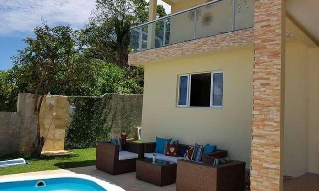 Siqueira Vende: Casa Mobiliada em Gaibu com 3 quartos com Piscina e Vista pro Mar