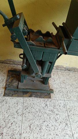 Prensa produção tijolos ecológicos - Foto 5