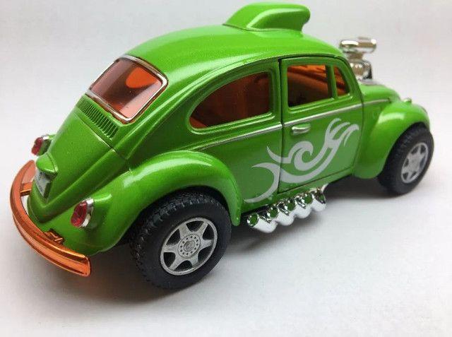 Miniatura Fusca Custom Dragracer Cores Variadas - Foto 3
