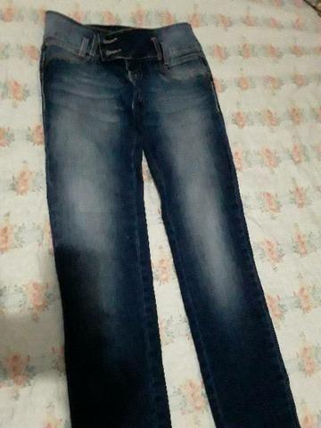 3 Calça jeans número 38 e 1 número 40 nova - Foto 5