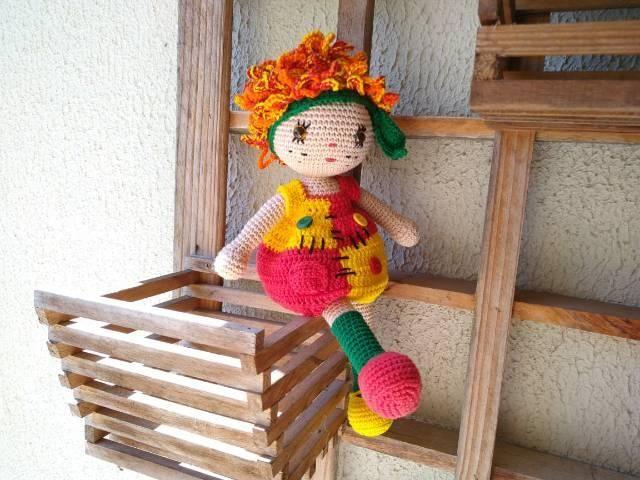 Emilia | Bonecas, Amigurumi de animais de crochê, Boneca emilia | 480x640