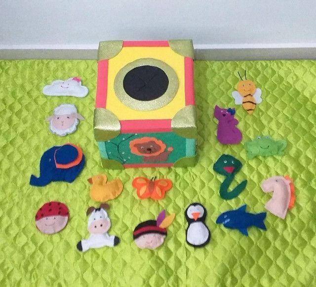 Caixa musical em eva, brinquedo educativo, black friday - Foto 3