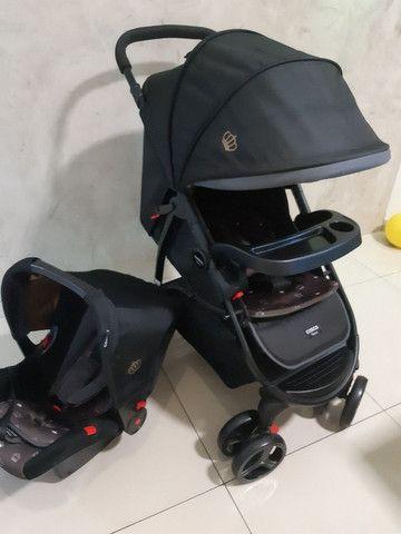 Kit carrinho + bebê conforto  - Foto 5