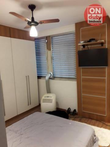 Apartamento com 3 dormitórios à venda, 120 m² por R$ 630.000 - Aparecida - Santos/SP - Foto 9