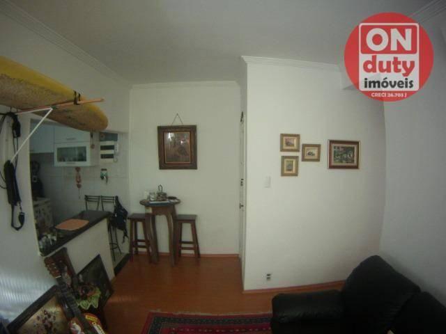 Apartamento com 1 dormitório à venda, 48 m² por R$ 240.000,00 - Ponta da Praia - Santos/SP - Foto 10