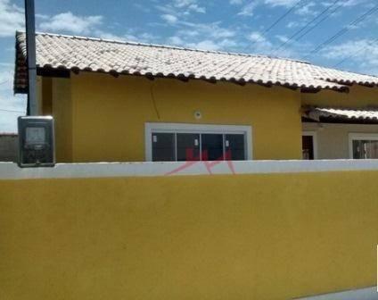 Casa com 3 quartos à venda, 70 m² por R$ 320.000 - Centro (Manilha) - Itaboraí/RJ