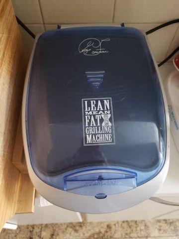 Grill George Foreman com aquecedor de pães