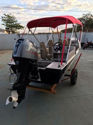 Barcos personalizados para pesca e passeio HF Boats - Foto 3