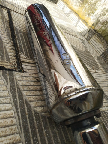 Escapamento Completo Original Honda Twister - Foto 4