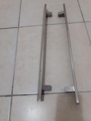 Puxador metal escovado  - Foto 2