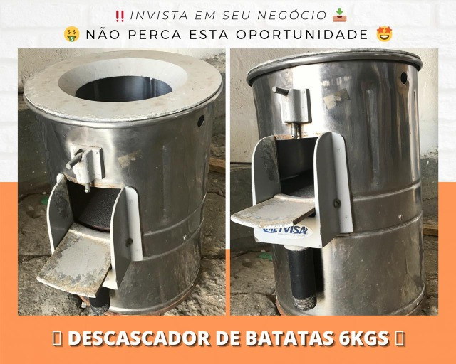 Descascador de Batatas - Matheus