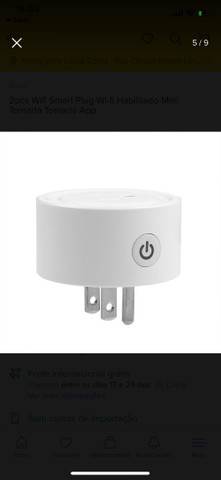 Tomada socket wifi smart alexa/google/siri - Foto 4