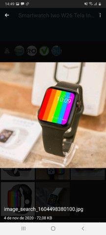 Smartwatch Iwo W26 Tela Infinite VJ-250,00 AT- 240,00 - Foto 3