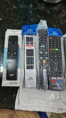 Controle de televisão smart