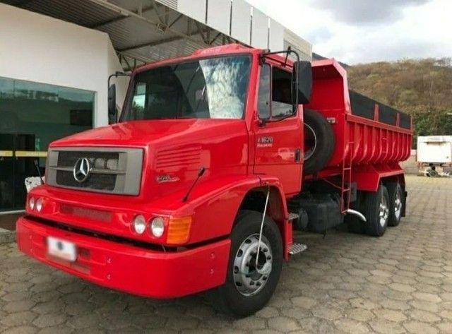 Caminhão Mb 1620 Caçamba Para Vender  - Foto 2
