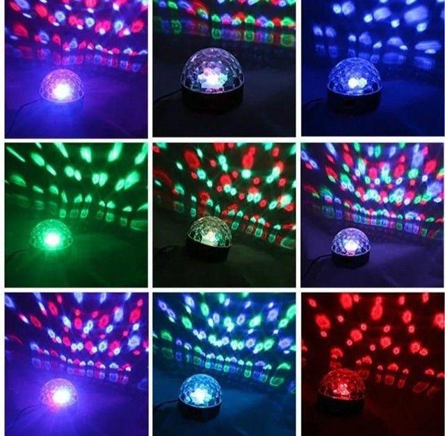 Globo de luz bola maluca - Foto 2