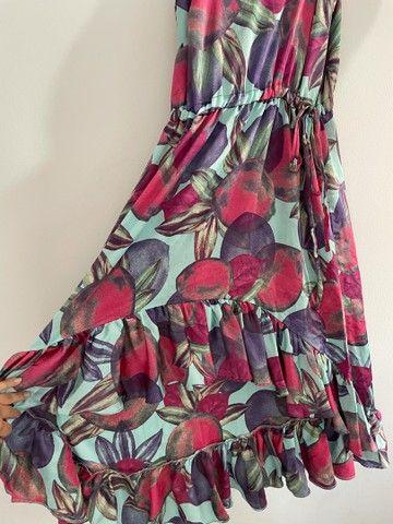 Vestido de seda floral  - Foto 2