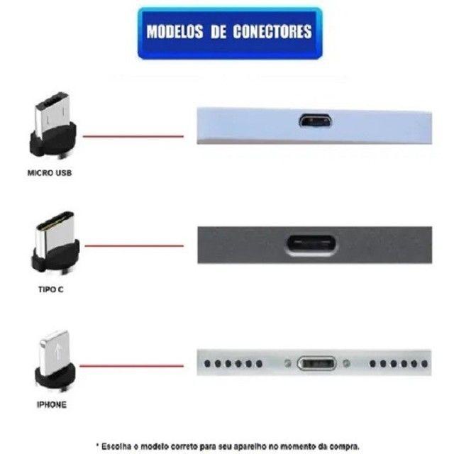 "Cabo Led Magnético Carregador ""Iphone""  - Foto 6"