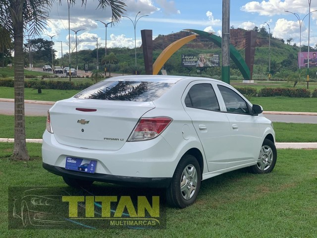 Prisma 1.0 JOY 2019. Ent. R$12.000 - Titan Multimarcas - Foto 4