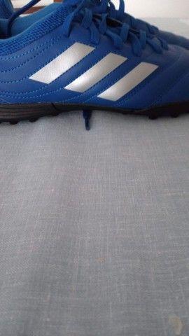 Chuteira Nova - Society Adidas Tamanho 36 - Foto 4