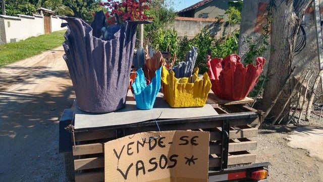 VASOS ARTESANAIS PARA PLANTAS - Foto 5
