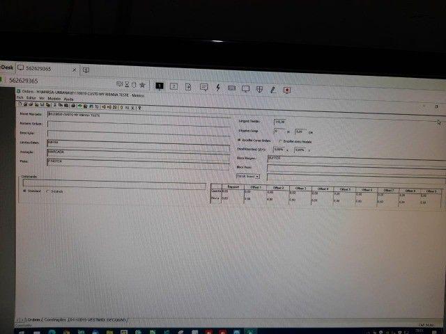 Software de CAD, (modelagem + encaixe) da marca Gerber. - Foto 3
