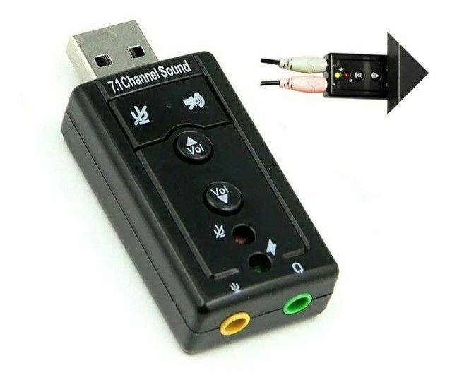 Placa de som USB x P2