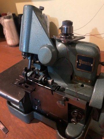 máquina overlock 220v c/ mesa - Foto 4