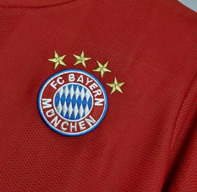 Camisa do Bayern deMunique  2021 oficial. - Foto 6