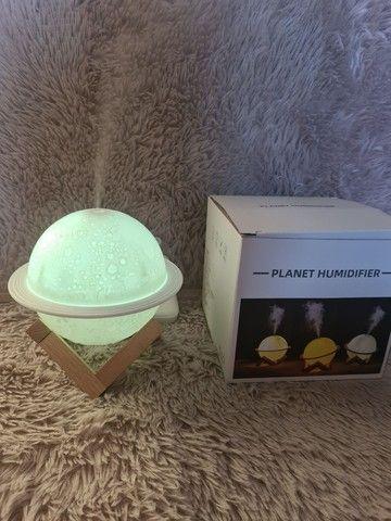 Luminária, aromatizador e umidificador Júpiter