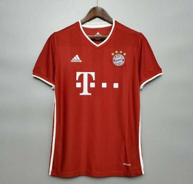 Camisa do Bayern deMunique  2021 oficial. - Foto 2