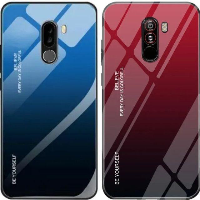 Capa para celular Xiaomi Pocophone F1 de luxo