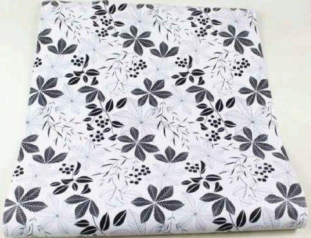 Folhas preta e branco promoção novo modelo