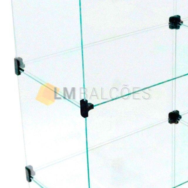 Balcão de Vidro em *L - 2,00 X 1,10 X 0,30 - Foto 3