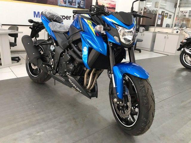 Gsx-s 750 azul 0km pronta entrega! - Foto 4