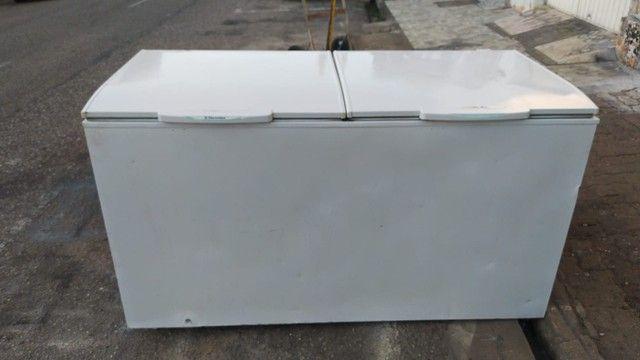 Freezer duas portas chame no zap ou ligue - Foto 2
