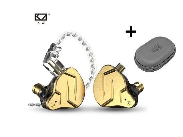 Fone In-ear Kz Zsn Pro X - Retorno De Palco Profissional