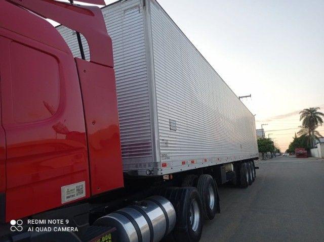 Scania P340 2011 + Baú Random 2008 15m + Rastreador Autotrac - Foto 4