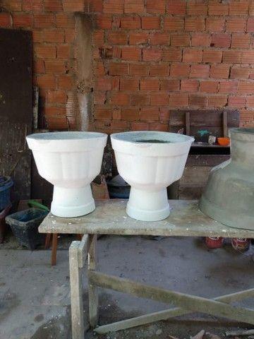 Vasos de cimento para plantas - Foto 5