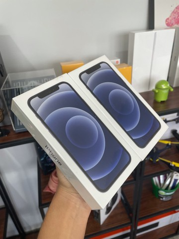 iPhone 12 128gb Lacrado Cor: Preto e Azul