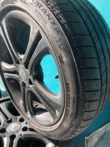 Jogo c 4 rodas p/ Mercedes A200 17, ano 2014+ pneu 225/45 17 - Foto 6