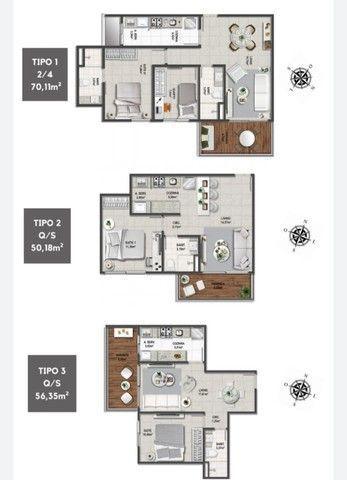 Apartamento para venda tem 70 m² com 2 quartos em Caminho das Árvores - Salvador - Foto 8
