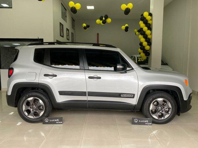 Jeep Renegade  2017-unico dono - sport motor 1.8 flex -Automático-2021 vistoriado - Foto 3