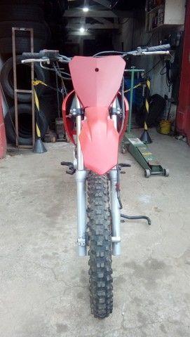 Moto veloterra / trilha CRF 200cc - Foto 4
