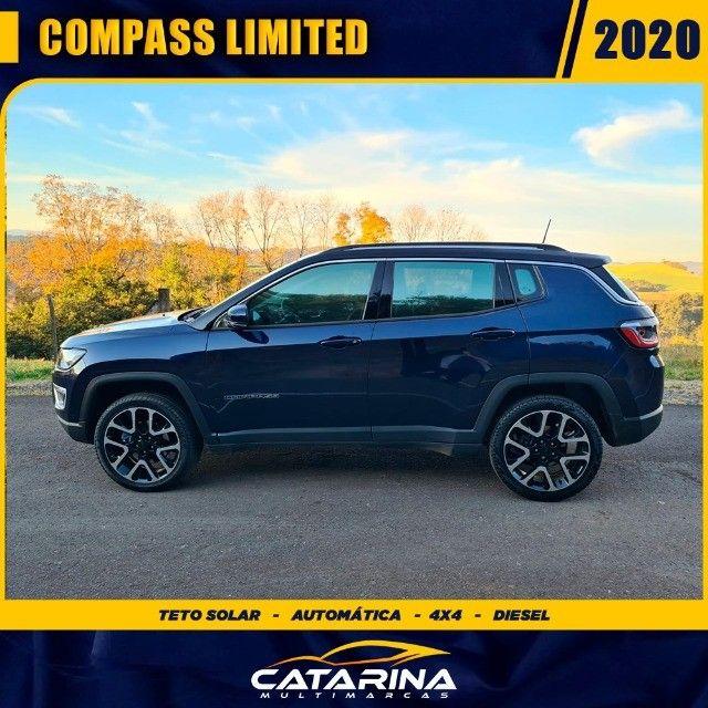 Jeep Compass Limited 2020 com teto  - Foto 2